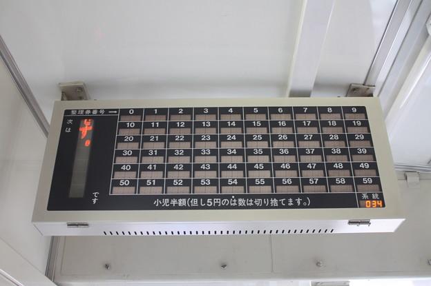 キハ150系の運賃表示器