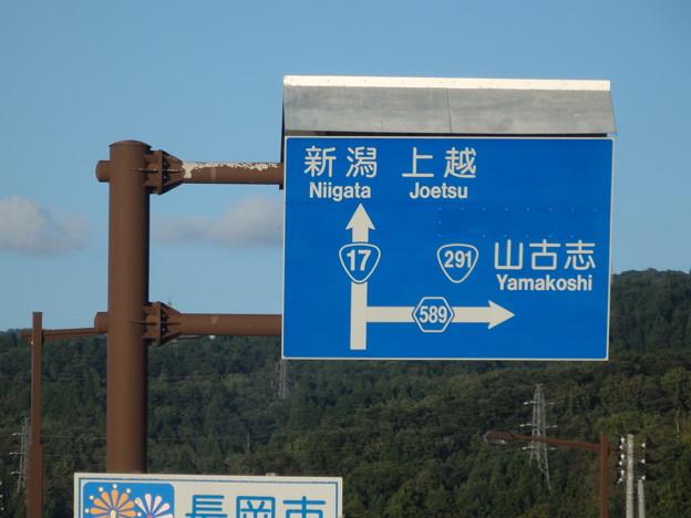 長岡市に入りました