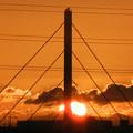 日の入;阪堺大橋