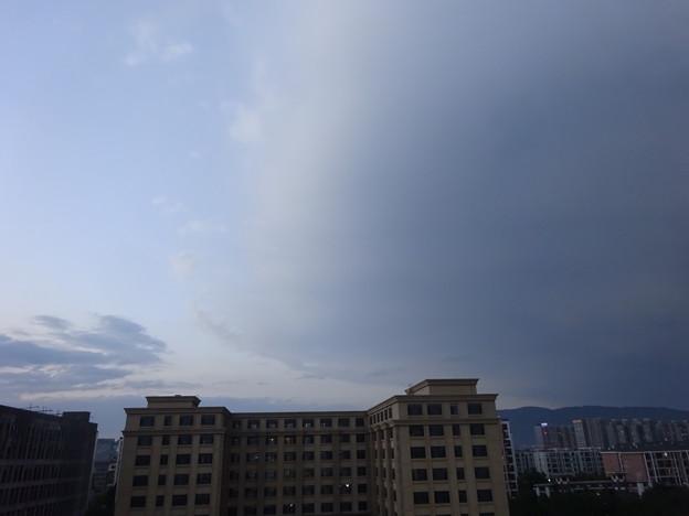 晴と雨のはざま@北京20150924