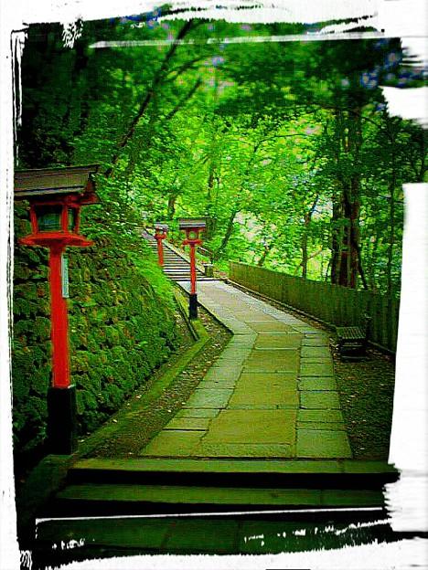 九郎判官義経殿がこのお寺で修業をしたという伝説がある