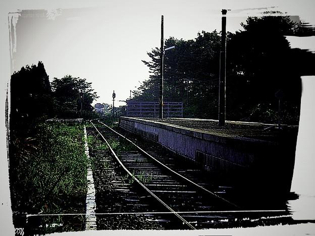 津軽半島北端?の大秘境駅  三厩駅