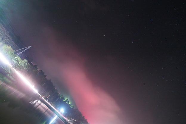 赤くたなびく雲