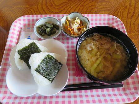 田舎喫茶 だんだんどうも 竹の子汁定食¥500