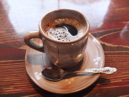 焼き鳥 山里 鴨島店 本日のランチ コーヒー