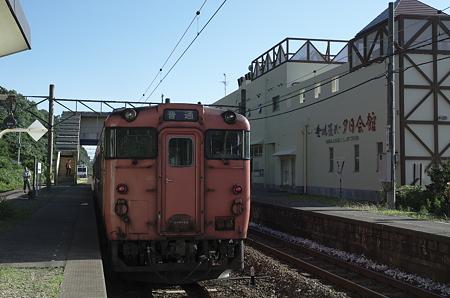 桑川駅 国鉄色の景色