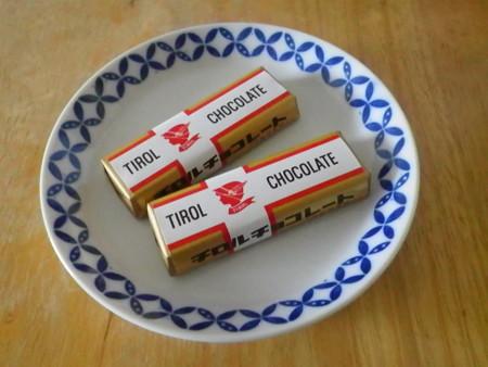 チロルチョコレトロ包装