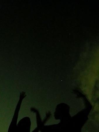 天文写真撮影「夏の大三角」