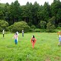 Photos: 飯給駅の案山子