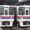 Photos: 京王線桜上水駅 区間急行の離合