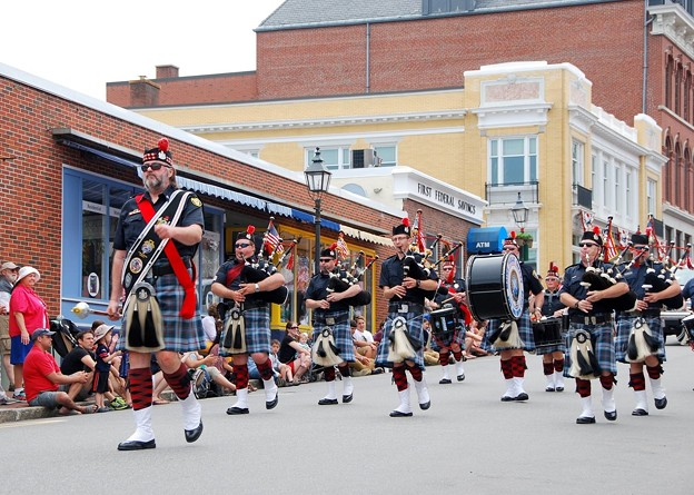 Drums and Pipes 7-4-15