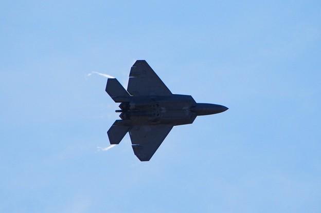 F-22 with Vapor 9-5-15