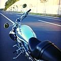 Photos: 朝バイク
