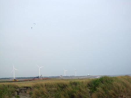 風力発電と二つの羽