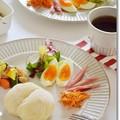Photos: 酒種白パンde朝食