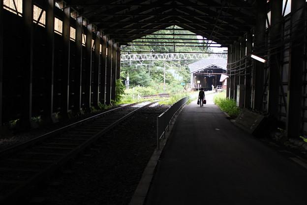 Photos: 板谷駅にて(1)