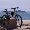 写真: 福間古賀海岸サイクリング