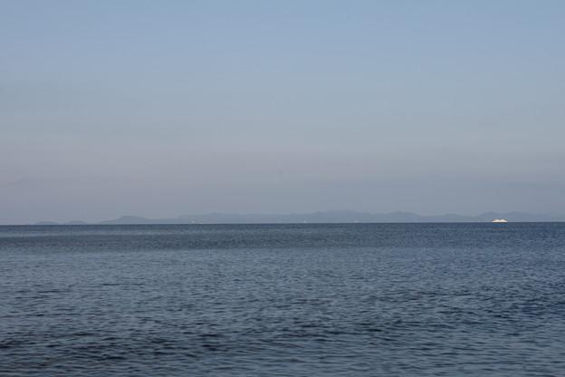 津軽半島の反対側は下北半島