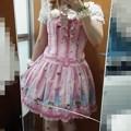 Photos: 今日のお出かけで着た服。メタモのおめかしラビットシリーズのコーデヽ(・∀・)ノ おめかしラビット大好き♪ヽ(´▽`)/