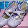 写真: 靴も欲しかったので狙ってたら奇跡的にサイズがあったので購入。メタモのスワンリボンシューズ。70%オフ(°▽°)