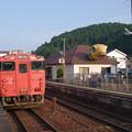 Photos: s0293_亀甲駅舎線路側