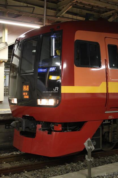 253系1000番台 OM-N01編成 回送