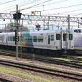 Photos: E257系0番台 M-204編成(簡易運転台側)・E351系0番台 S3編成