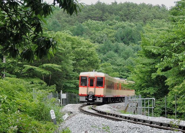 懐かしい国鉄色の高原列車