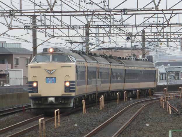 Photos: 583系ひたち@亀有駅