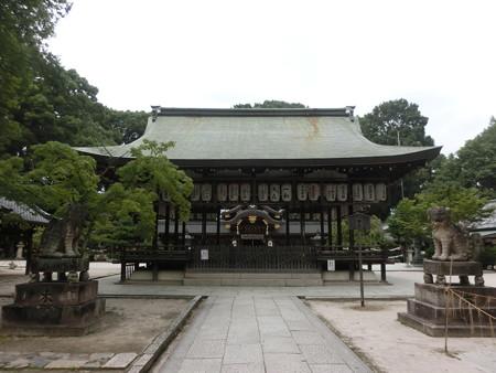 今宮神社の拝殿