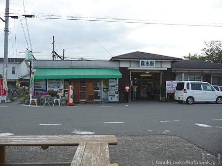 09828 喜志駅 たま駅長 (1)