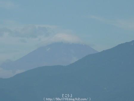 150719-富士山 (4)笠雲付き