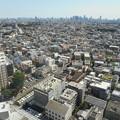 高層ビルから新宿方面を望む