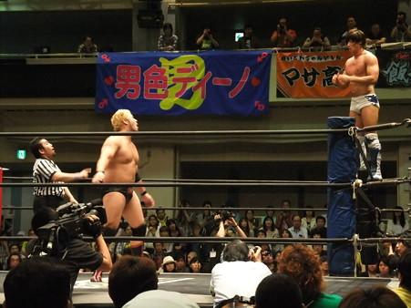 "DDT ""What are you doing 2012"" KO-D無差別級選手権試合 火野裕士vs飯伏幸太 (8)"