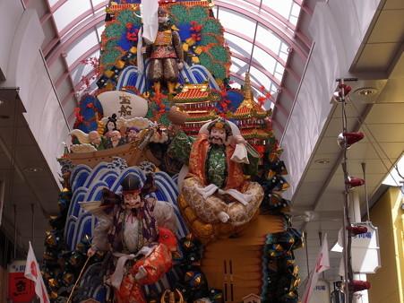 14 博多祇園山笠 走る飾り山 瑞祥七福神(ずいしょうしちふくじん)2012年 写真画像2