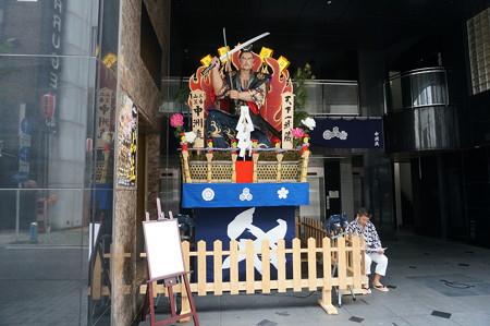2015年 博多祇園山笠 追い山 舁き山笠 天下一武蔵(てんかいちむさし) (3)