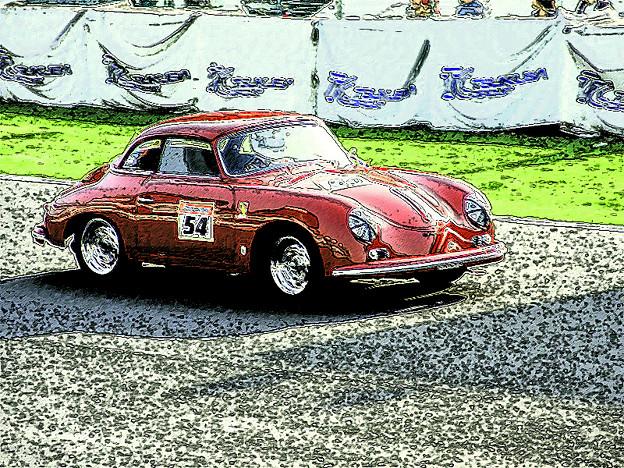 ポルシェの旧車