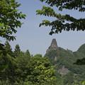 写真: 妙義山奇岩 金鶏山