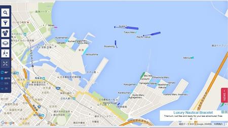 2015.9.18 18:28 横浜港大桟橋
