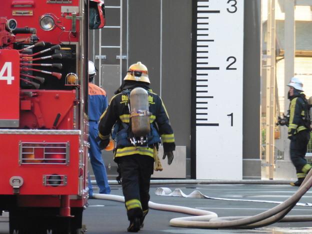 消防隊訓練風景  6