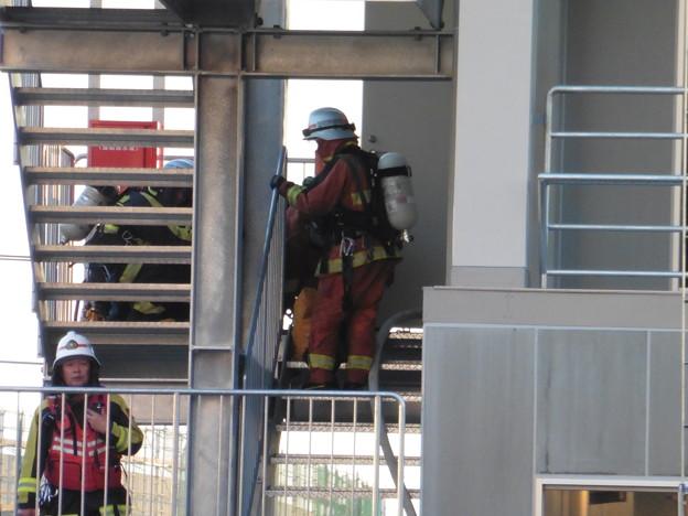 消防隊訓練風景  7