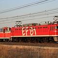 配9932レ EF81 95+DE11 1041