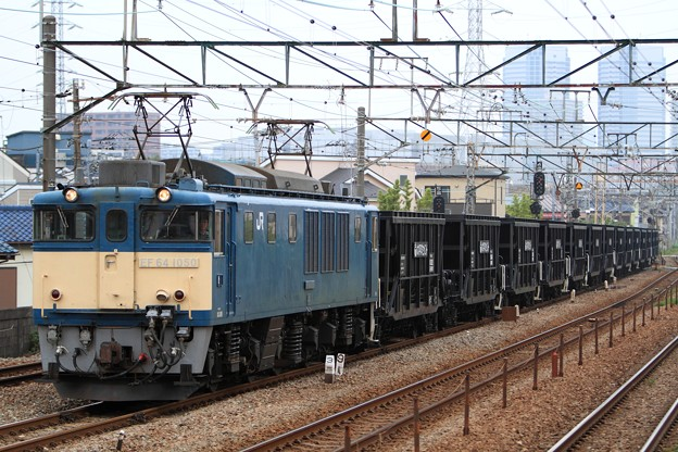 5764レ EF64 1050+ホキ