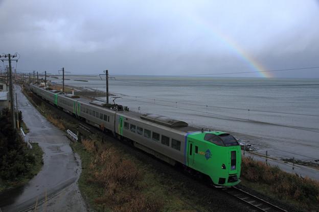 津軽海峡 スーパー白鳥