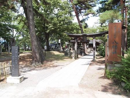 川中島古戦場 八幡社 (2)