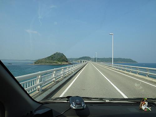 角島大橋-走行1