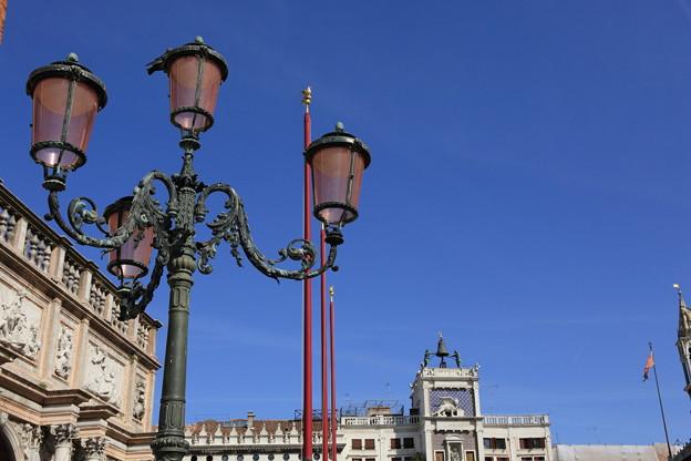 サンマルコ広場の時計塔