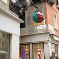 写真: ヴェネチアの街の変わった看板5