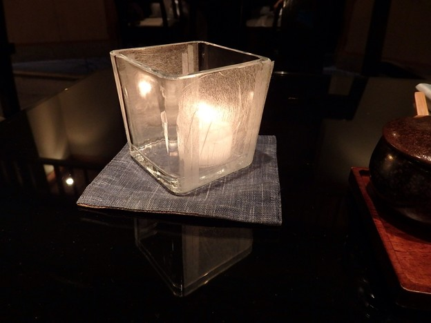 椿山荘でディナー