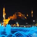 写真: スルタンアフメット広場とアヤソフィア Sultan Ahmet Square & Hagia Soph-ia